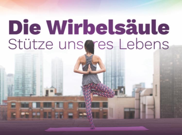 Do, 3. 10 – Vortrag: Die Wirbelsäule – Stütze unseres Lebens!
